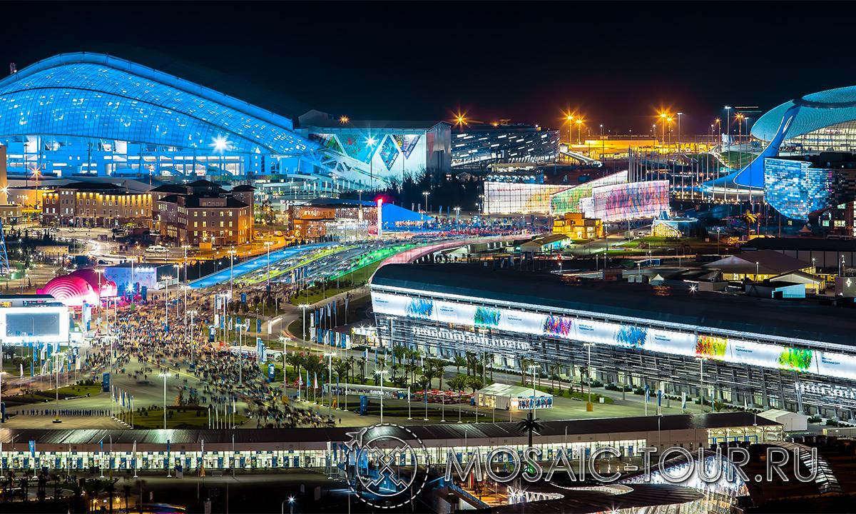 Новый год в олимпийской деревне 2018